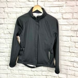 Callaway Gold Black Shell Jacket Size Medium